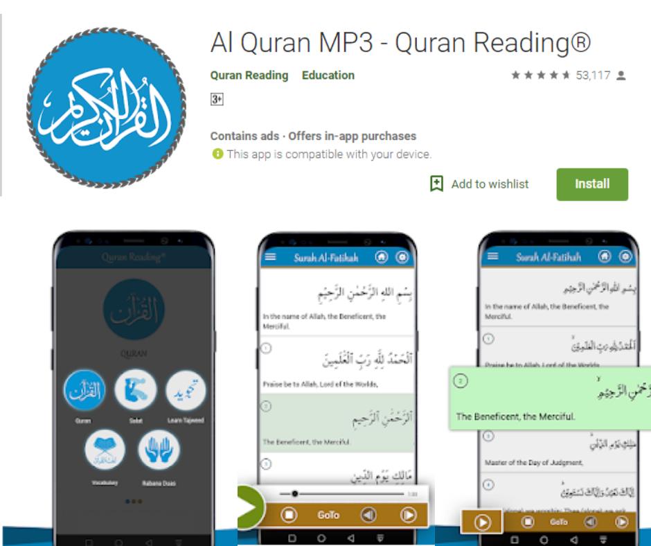 Al Quran MP3 App