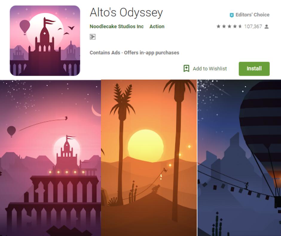 Alto's Odyssey/Alto's Adventure