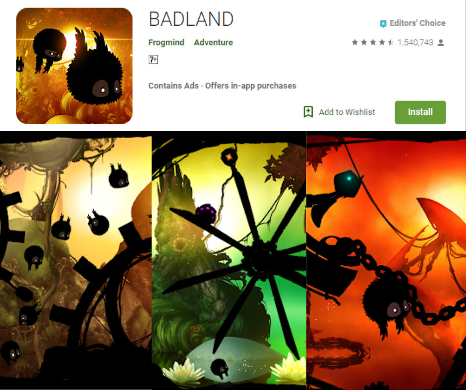 Badland Best Time Killers Games App