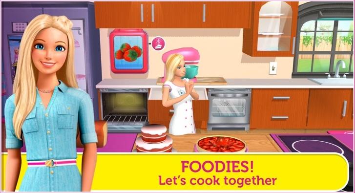 Barbie Dreamhouse Adventure App Game Design