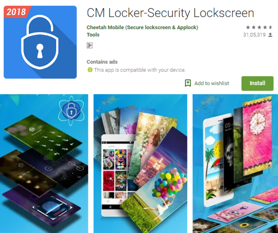 CM Locker-Security Lockscreen