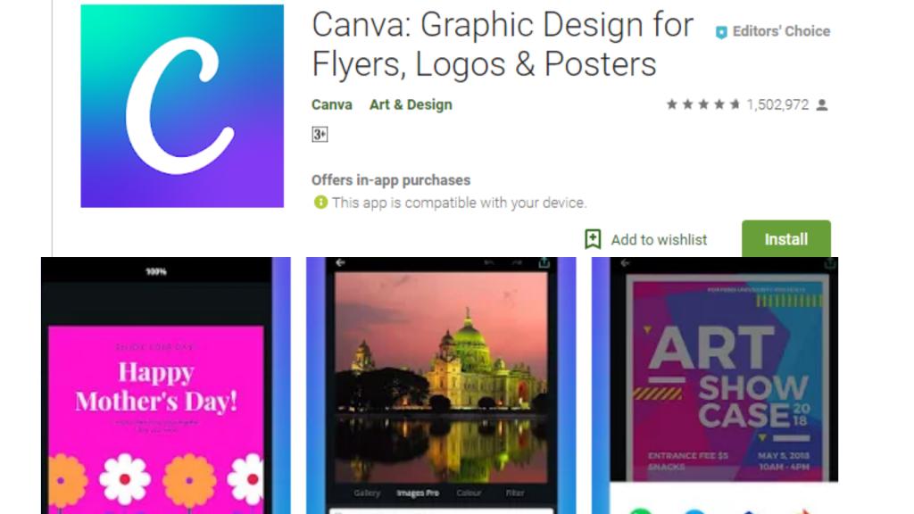 Canva Collage Maker App