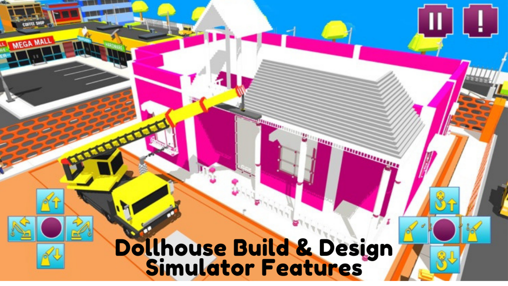Características del simulador de construcción y diseño de casas de muñecas