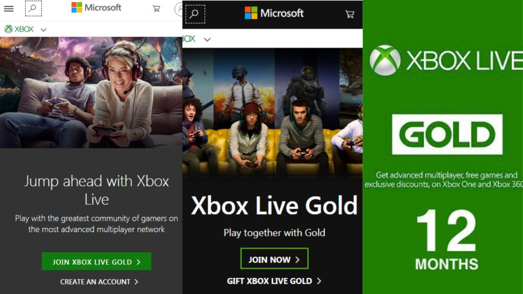 Xbox Live订阅