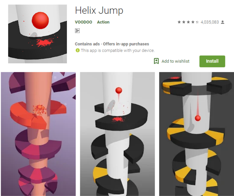 Helix Jump Android app