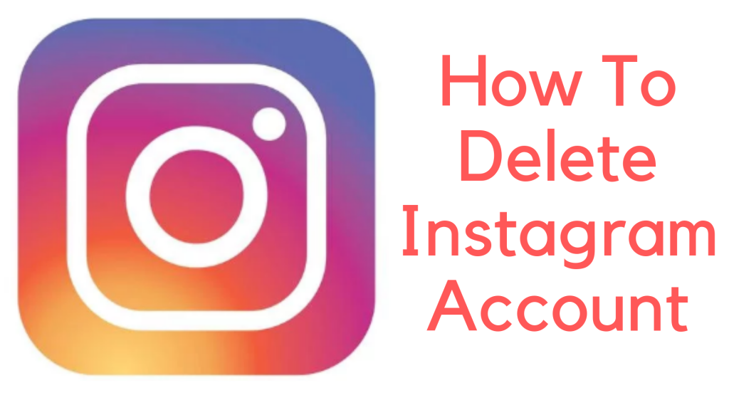 حذف حساب Instagram