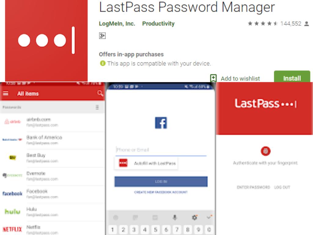 LastPass Şifre yöneticisi