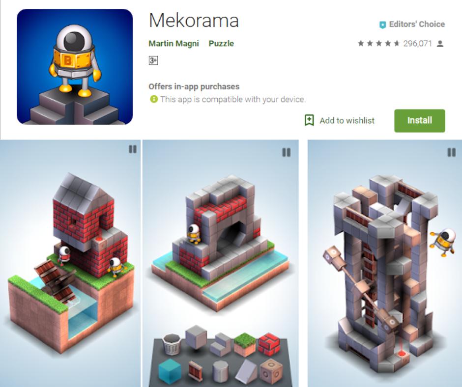 Mekorama Android app