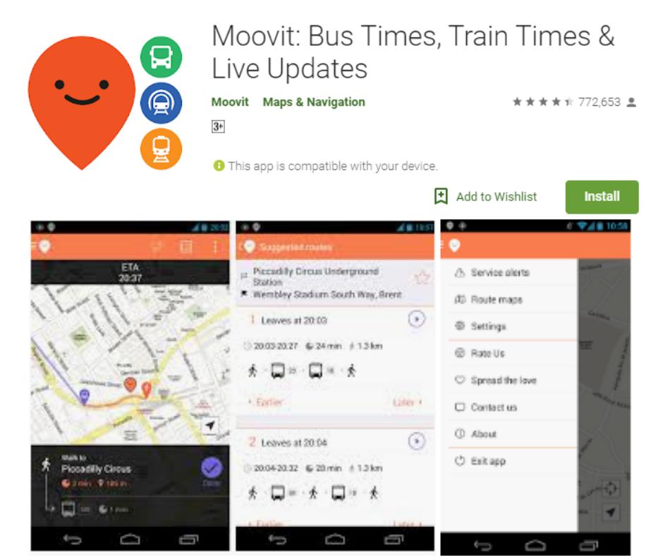 Moovit-app