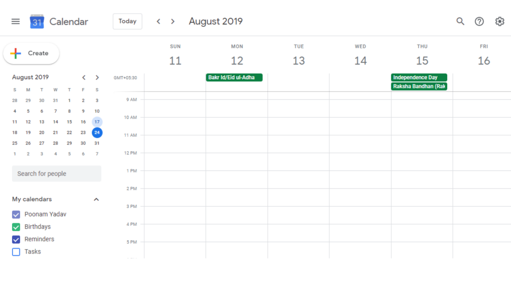 Share Google Calendar with Specific People
