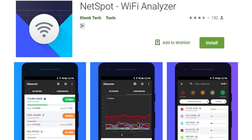 NetSpot Internet Booster تطبيق أندرويد