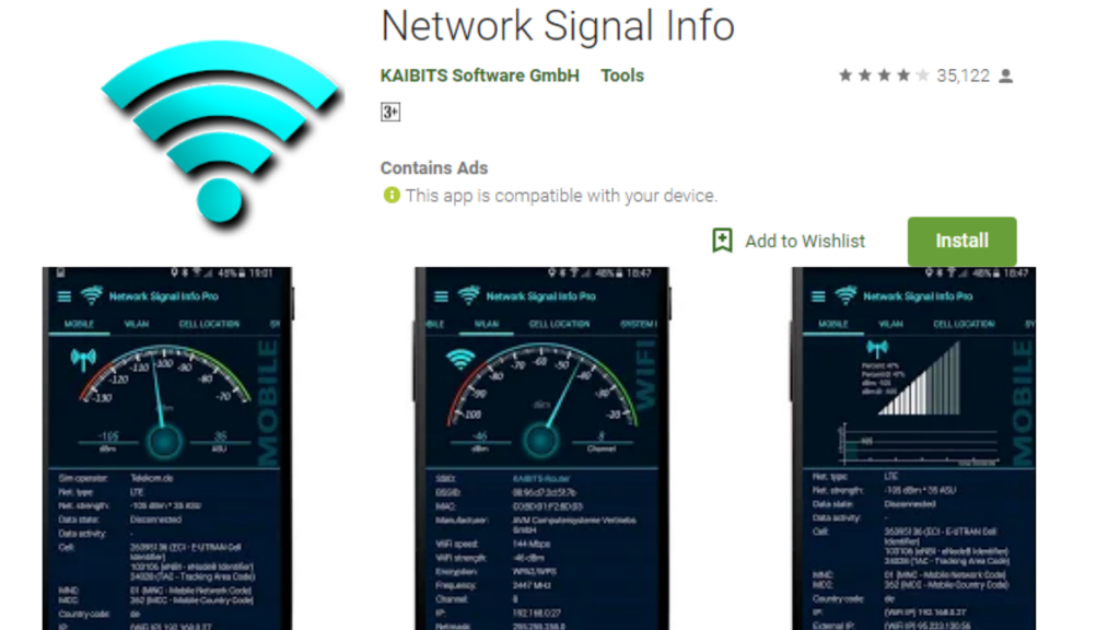 Network Signal Info Wi-Fi Signal Boosters App
