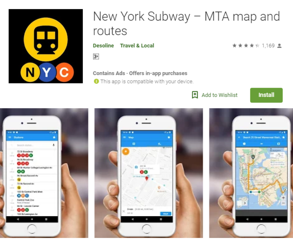 New York Subway Map Mobile.Best Nyc Subway Map Apps Apk Download For Android