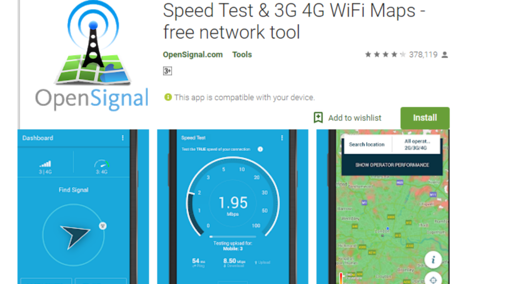 OpenSignalMaps Free WiFi Booster App for Android