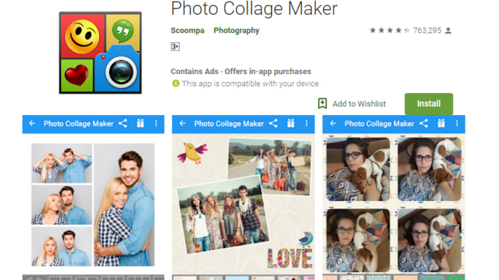 Photo Collage Maker Editor App