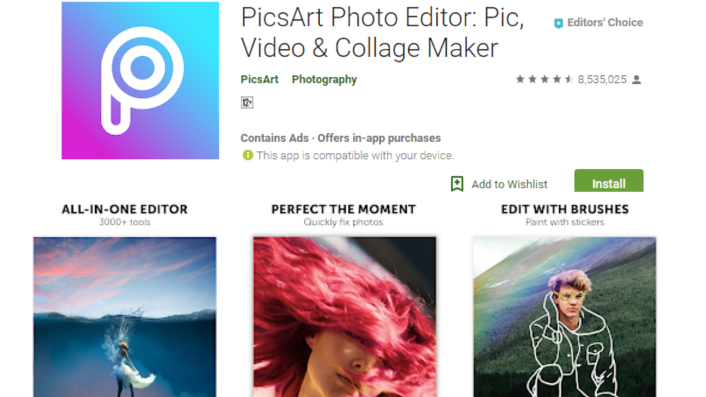PicsArt Collage Maker App