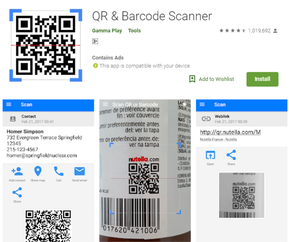 10 Best Barcode Scanner Apps | APK Download For Android