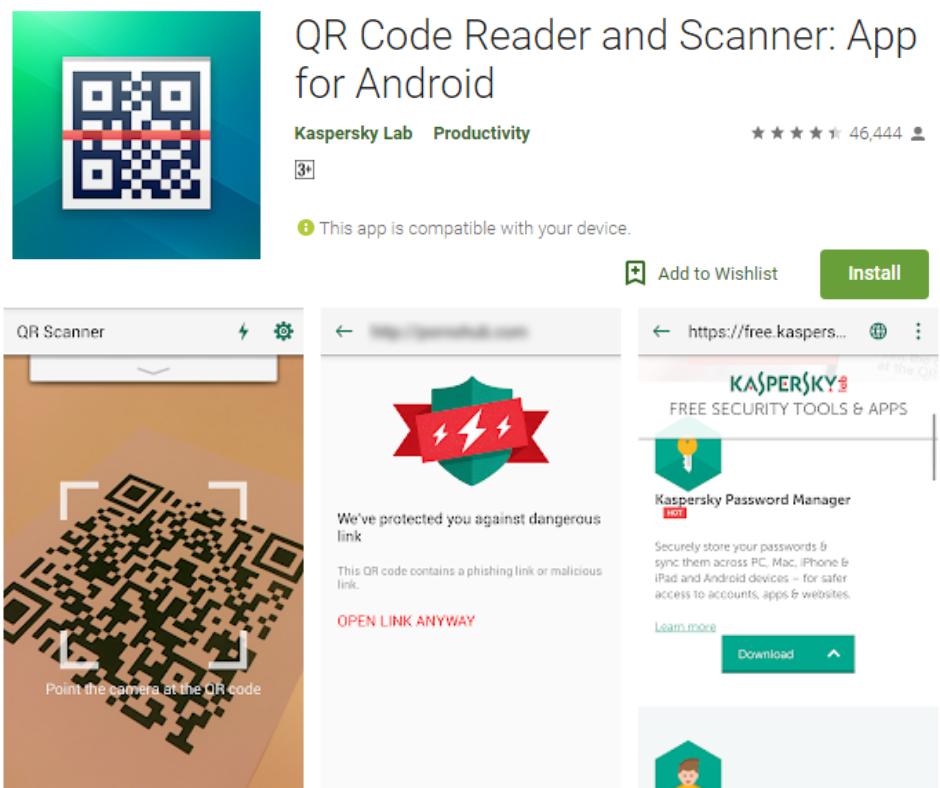 QR Scanner by Kaspersky