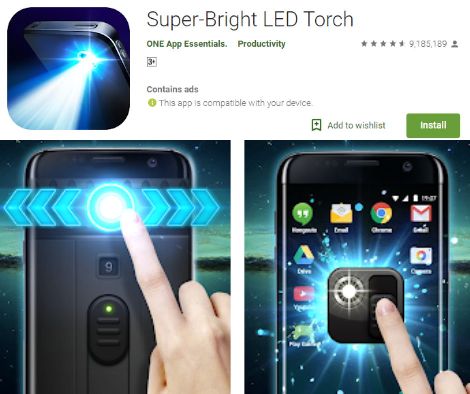 Super-Bright LED Torch APK