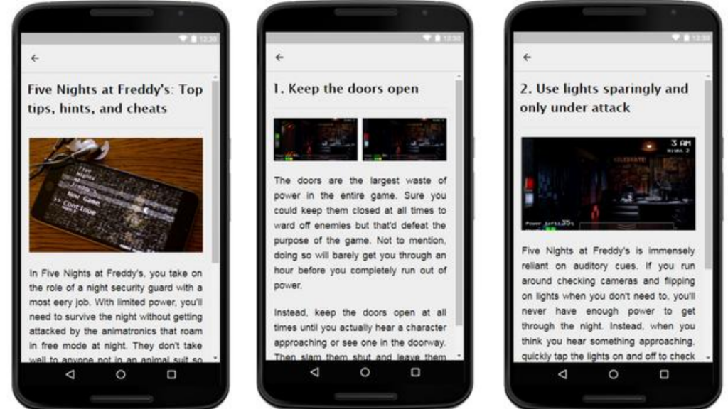 Tricks for Five Nights at Freddy's APK