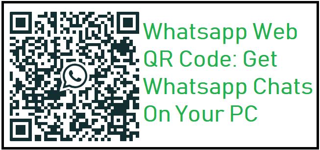 Whatsapp Web Qr Code Get Whatsapp Chats On Your Pc