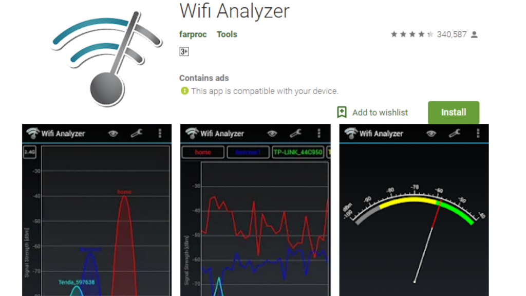 واي فاي محلل مجاني واي فاي إشارة التعزيز التطبيق