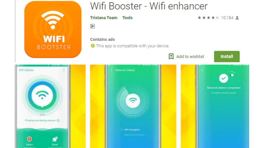 WiFi Booster Best Free App