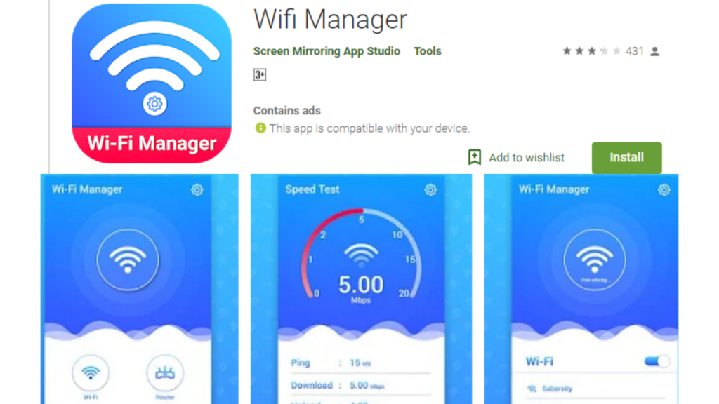WiFi Manager Signal Boosters App