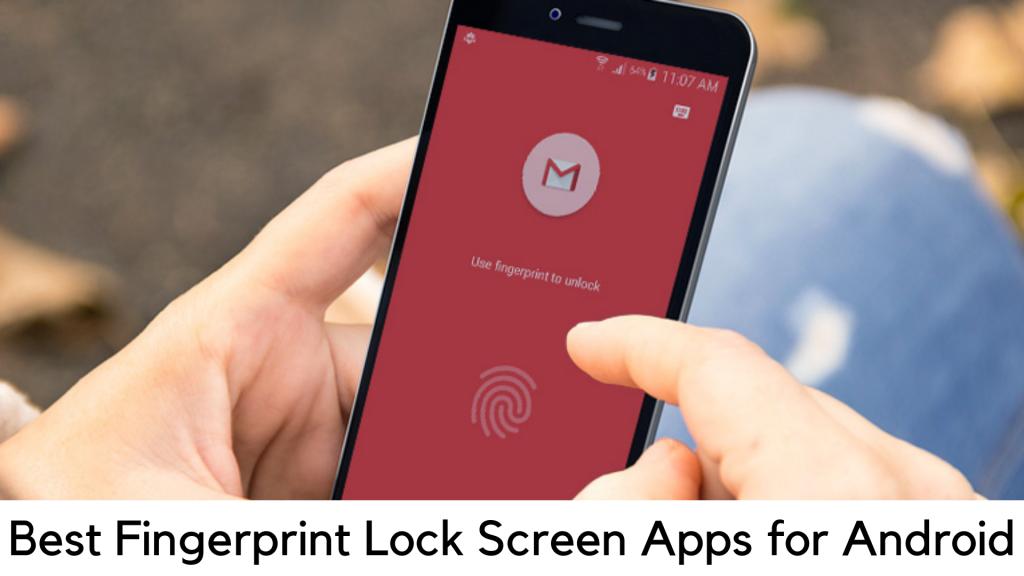 fingerprint lock screen apps