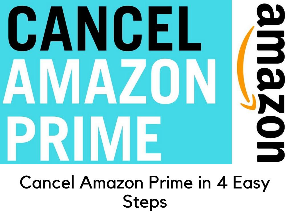 Cancel Amazon Prime Subscription