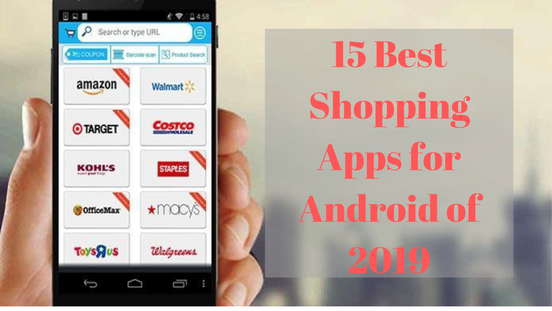 最高のショッピングアプリ