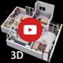3D Home Designs: House Plan Designs & Videos