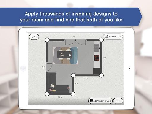 3D Kitchen Design for IKEA: Room Interior Planner | APK ...
