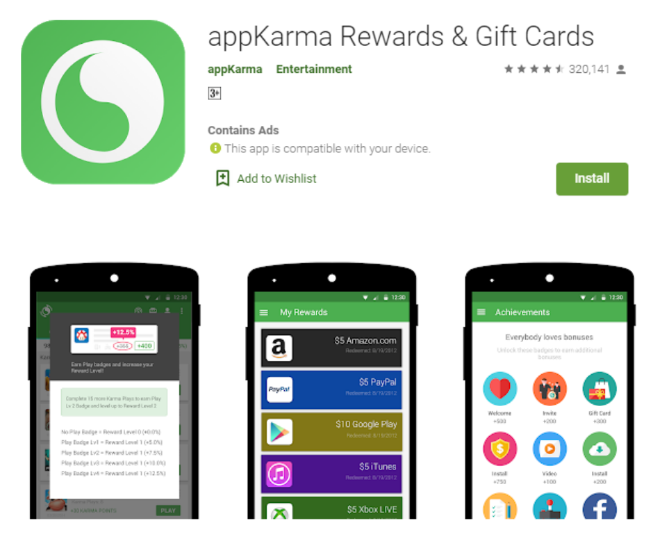 AppKarma Earn Free Xbox Gift Cards