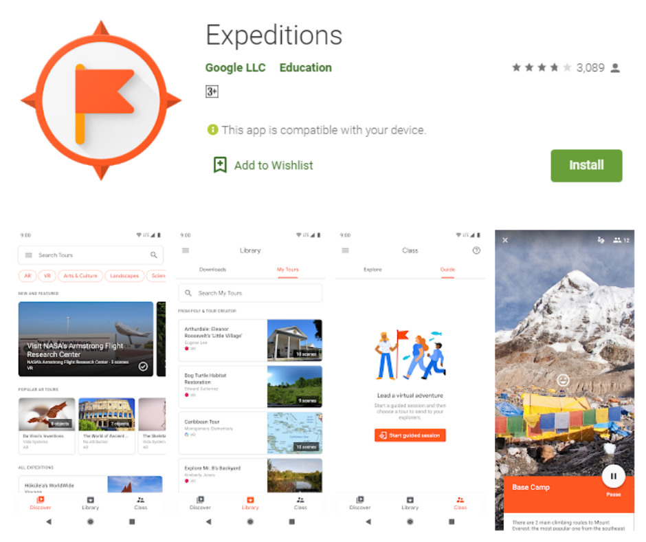 Expeditions Best Virtual Reality Apps
