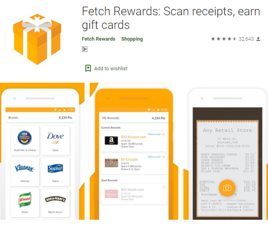 FetchRewards app
