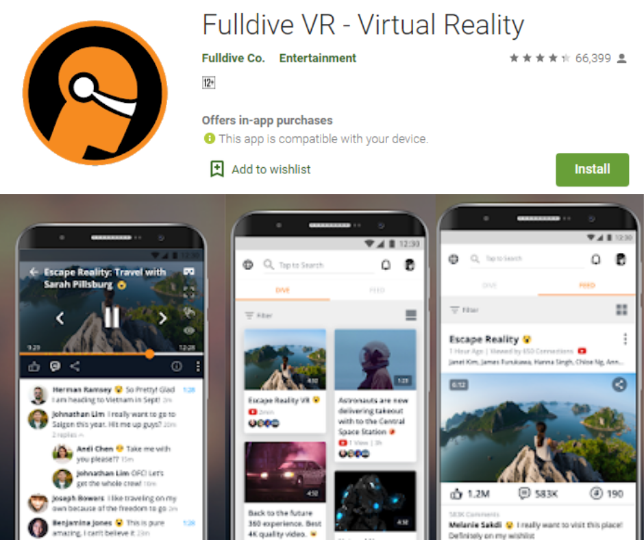 Fulldive VR
