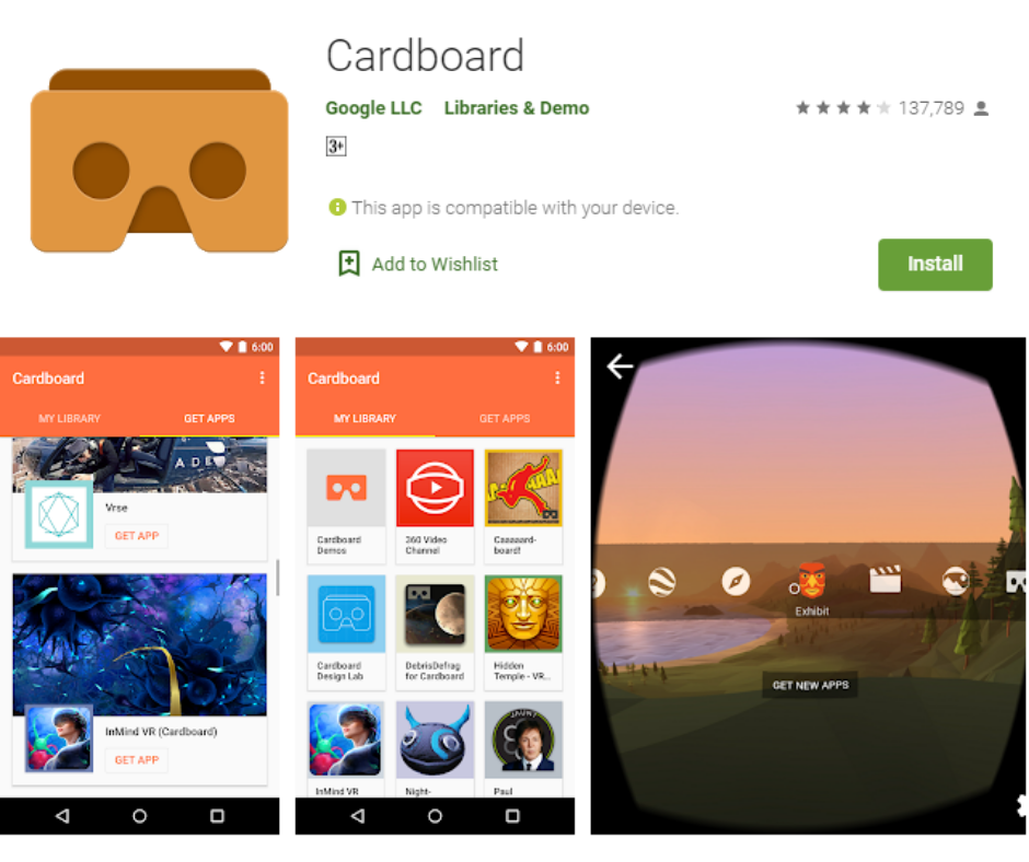 Google Cardboard Best Virtual Reality Apps