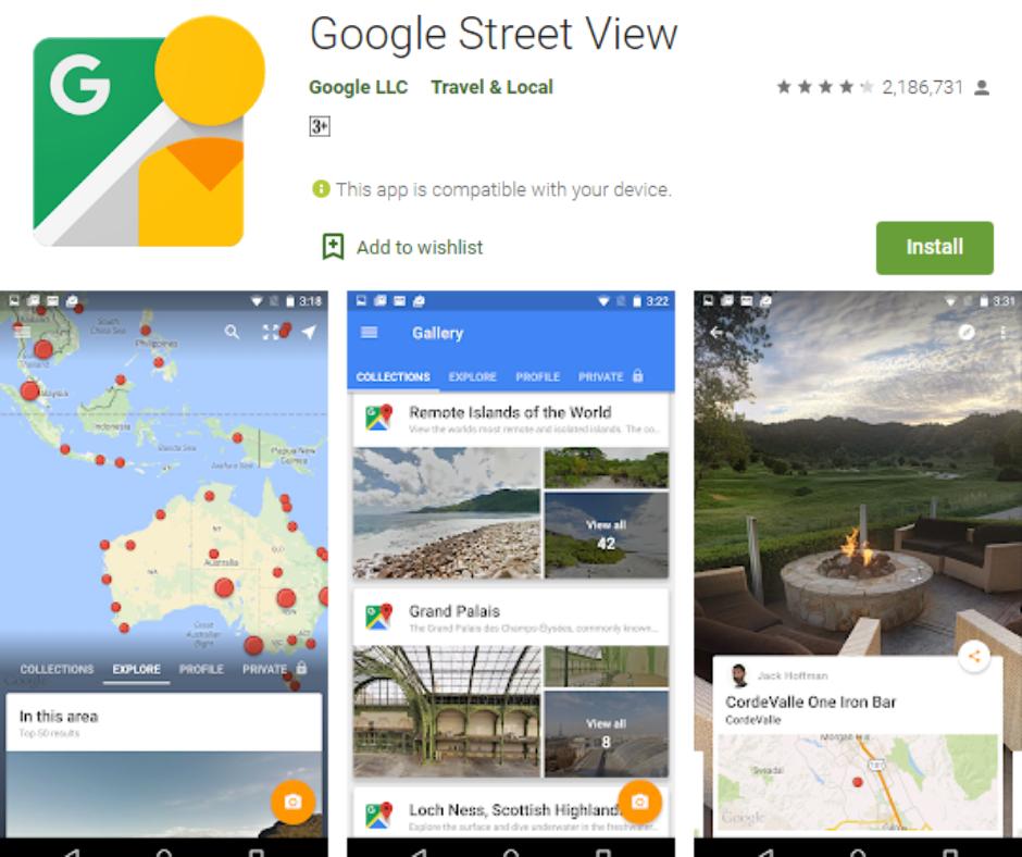 ดู Google ถนน