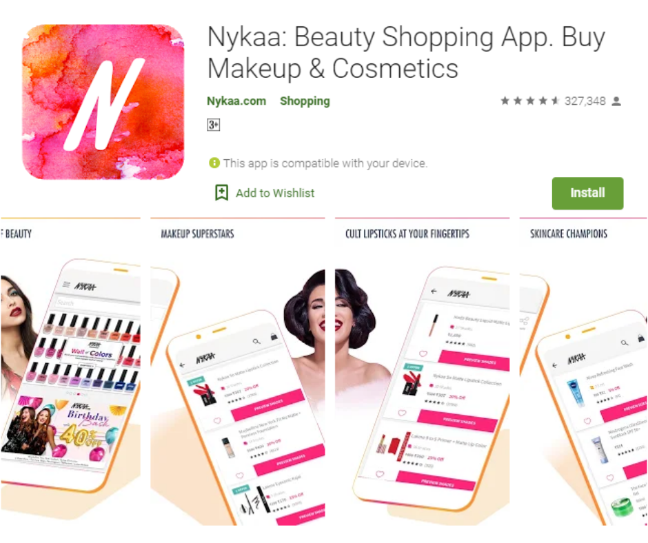 Nykaa Beauty Shopping App