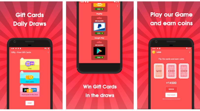 Online Gift Cards For Android
