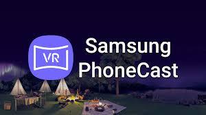 Samsung Phonecast VR-APP