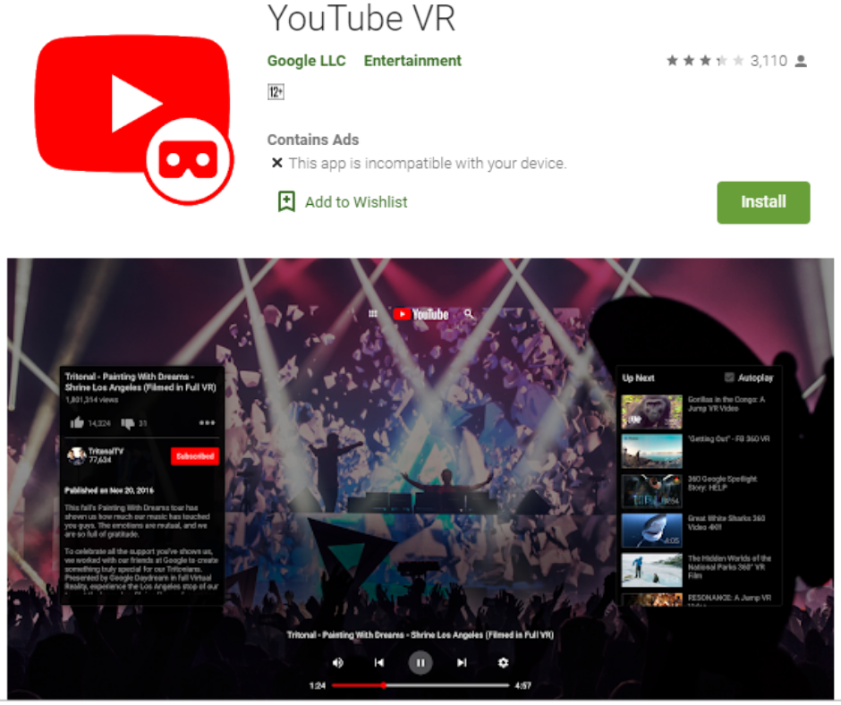 YouTube VR Best App