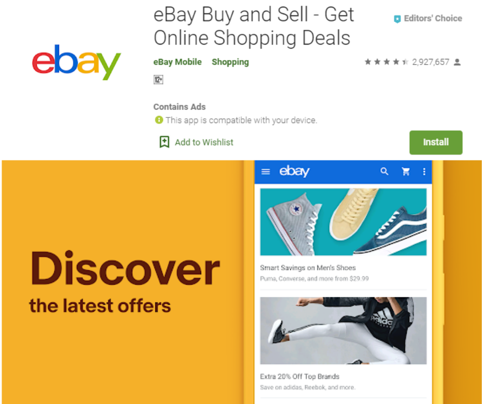 eBay Buy and Sell App