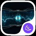 Electric-APUS Launcher theme