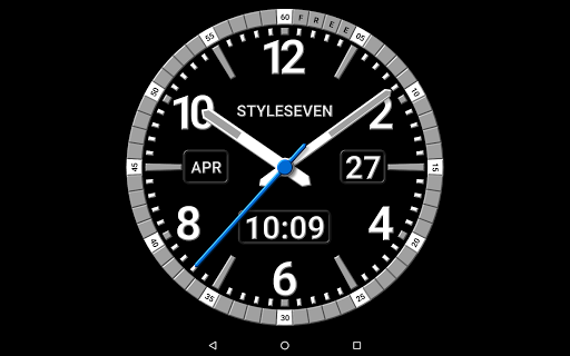 Kit Analog Clock Live Wallpaper 7 Apk Download For Android