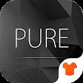 Pure Black Launcher Theme