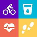 Health Pal - ကြံ့ခိုင်ရေး၊ ကိုယ်အလေးချိန်နည်းပြနည်းပြ Pedometer
