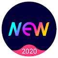 Tema New Launcher 2020, paket ikon, wallpaper