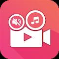 Éditeur de son vidéo: ajouter de l'audio, couper le son, vidéo silencieuse